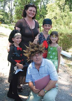 Mariana Pachis cu familia