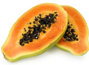 Papaya, fructe