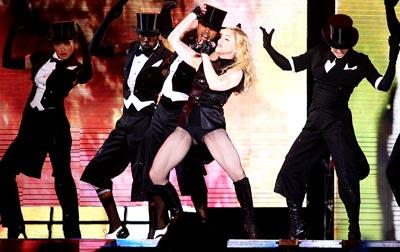 Madonna in concert