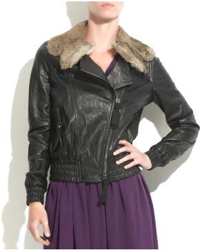 Jacheta din piele Philip Lim