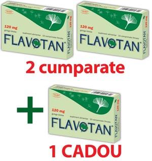 Flavotan cu extract standardizat de Ginkgo Biloba