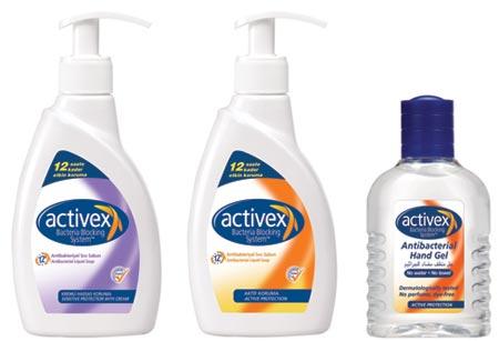 Activex - Gama de sapunuri anti bacteriene pentru familia ta