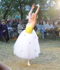 Bianca Stoicheciu, balerina la Opera Romana
