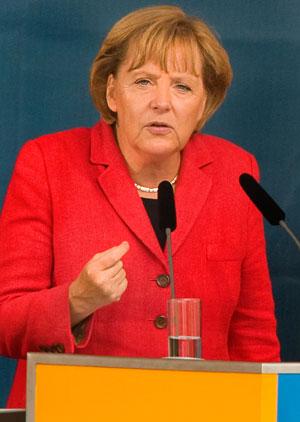 Angela Merkel, cancelar