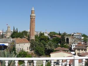 Antalya: moscheea Yivli Minare
