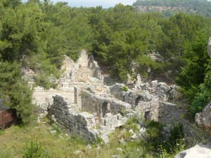 Ruinele anticului oras Phaselis