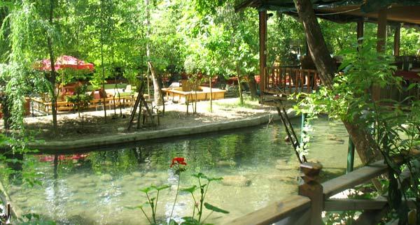 la restaurantul Ulupinar Tropik