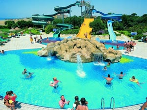 aquapark la Hotelul Sun Zeynep