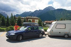 Prin Austria cu rulota