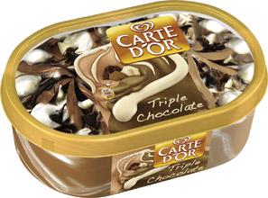 Inghetata Carte D'Or Triple Chocolate