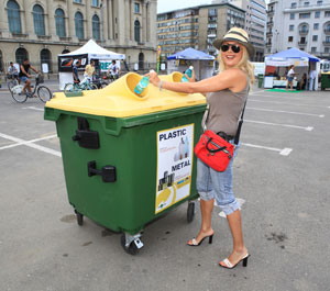 Dana Savuica la Recicloniada