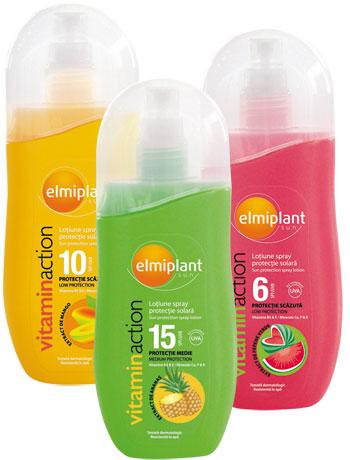 Lotiune Spray Elmiplant Vitamin Action