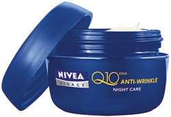 Q10 Plus, Nivea Visage