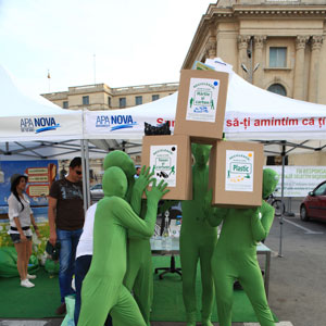 Omuletii Verzi la Recicloniada