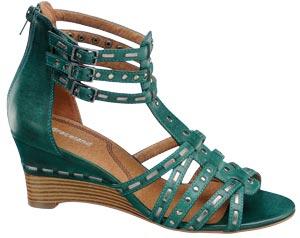 Sandale din piele ecologica, Deichmann