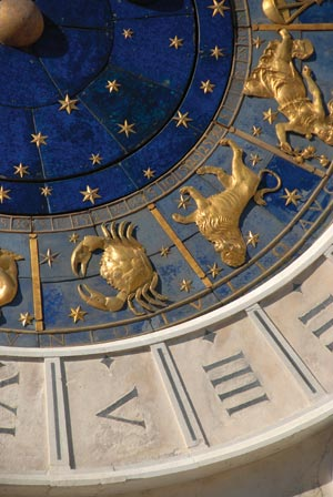 Saturn, zodiac