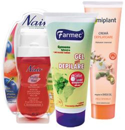 Farmec, Elmiplant, Nair, epilare