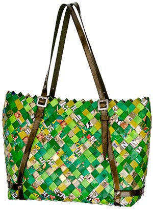 Nahui Ollin, geanta eco-chic