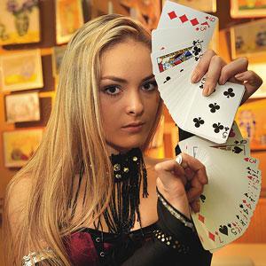 Cristina Strecopitov, Iluzionista