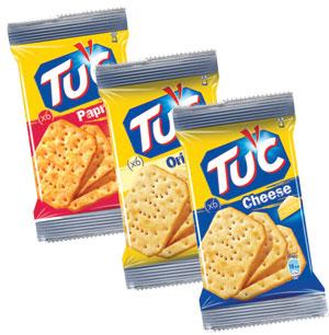 Biscuiti sarati TUC, Kraft Foods