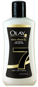 Lapte demachiant Olay Total Effects