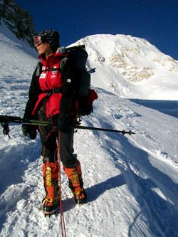 Crina Popescu, alpinista
