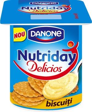 Nutriday Delicios, iaurt