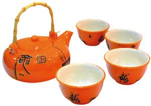 Set pentru ceai, Exotique