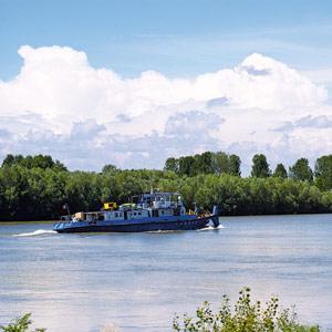 Vapor, Dunare