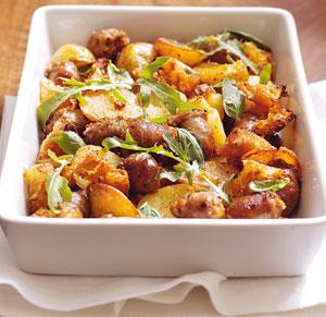 carnati, cartofi