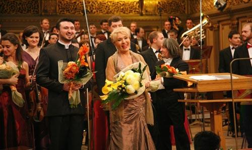 Nelly Miricioiu, soprana, Yuriy Tsiple, bariton, Horia Andreescu, dirijor