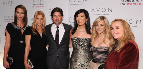 Christy Turlington Burns, Jillian Dempsey, Patrick Dempsey, Andrea Jung, Reese Witherspoon, Melissa Etheridge