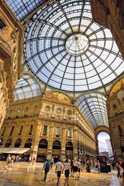 Milano, Pasajul Vittorio Emanuele