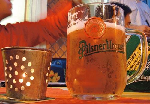 Praga, bere
