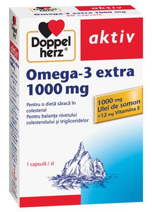 Omega-3 - Substante vitale esentiale pentru inima si sistemul nervos