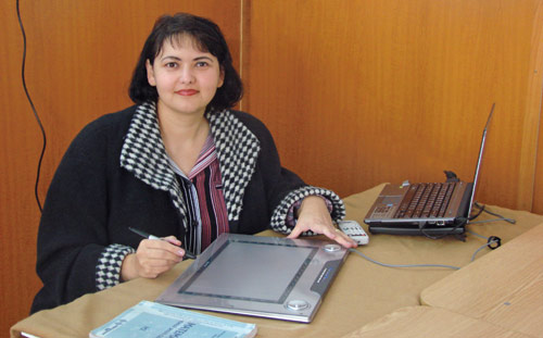 Elena Dobrescu, profesoara