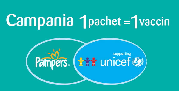 Pampers, UNICEF