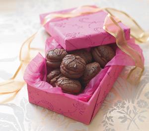 Prajiturele cu crema de ciocolata