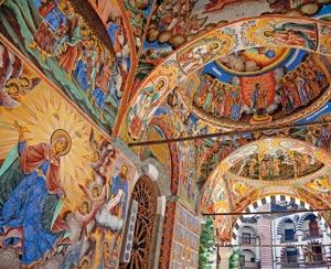 manastirea Rila, Bulgaria