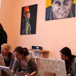cursuri de arta workshop-uri