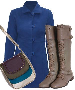 Palton, Tara Fashion, Cizme, Zara, Geanta, Cropp Town, Fular extralarge, Vero Moda
