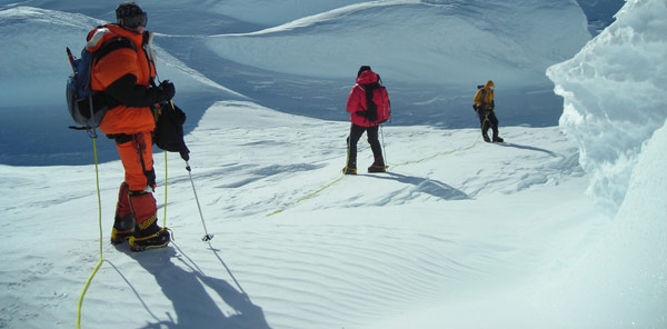 Crina COCO Popescu, alpinista