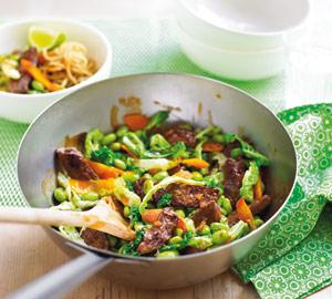 Friptura, carne, vita, legume