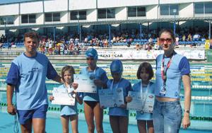 Iulia Becheru, Clubului Aqua Team