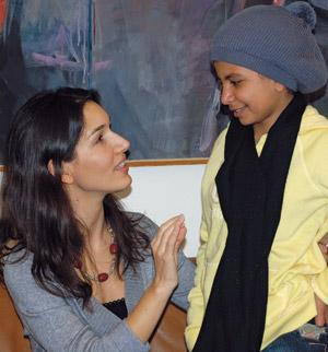 Nojoud Ali, Delphine Minoui