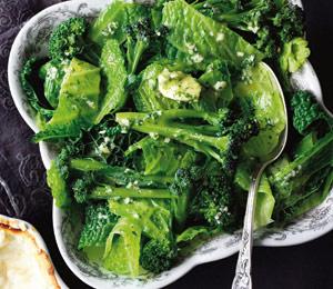 Salata verde, usturoi, varza, broccoli