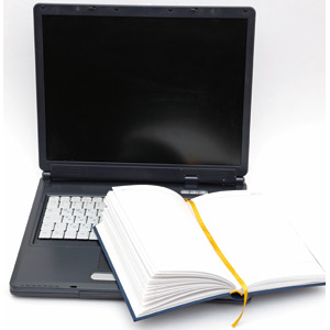 laptop, agenda