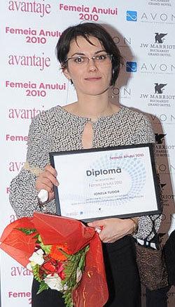 Femeia anului 2010, Ionela Tudor