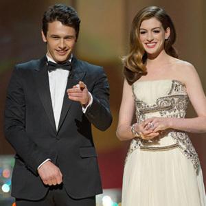 Premiile Oscar, James Franco si Anne Hathaway