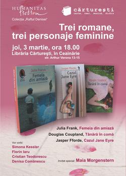 Humanitas Fiction, colectia Raftul Denisei, lansare